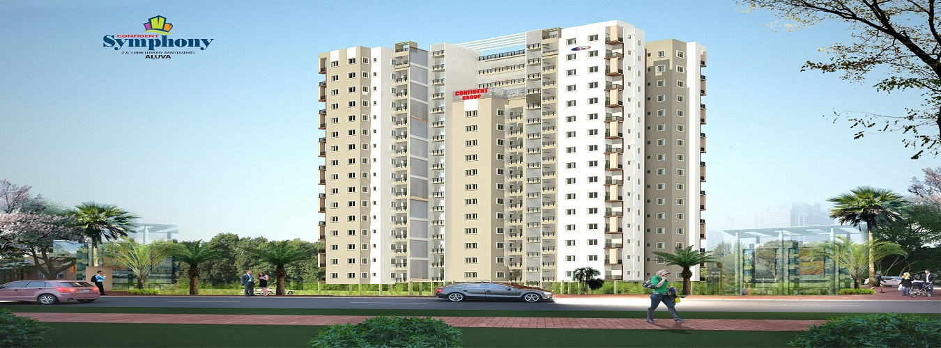 Confident Symphony in Aluva. New Residential Projects for Buy in Aluva hindustanproperty.com.