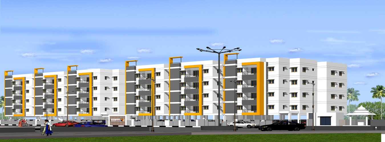 Kanya Park View Apartments in K K Nagar. New Residential Projects for Buy in K K Nagar hindustanproperty.com.