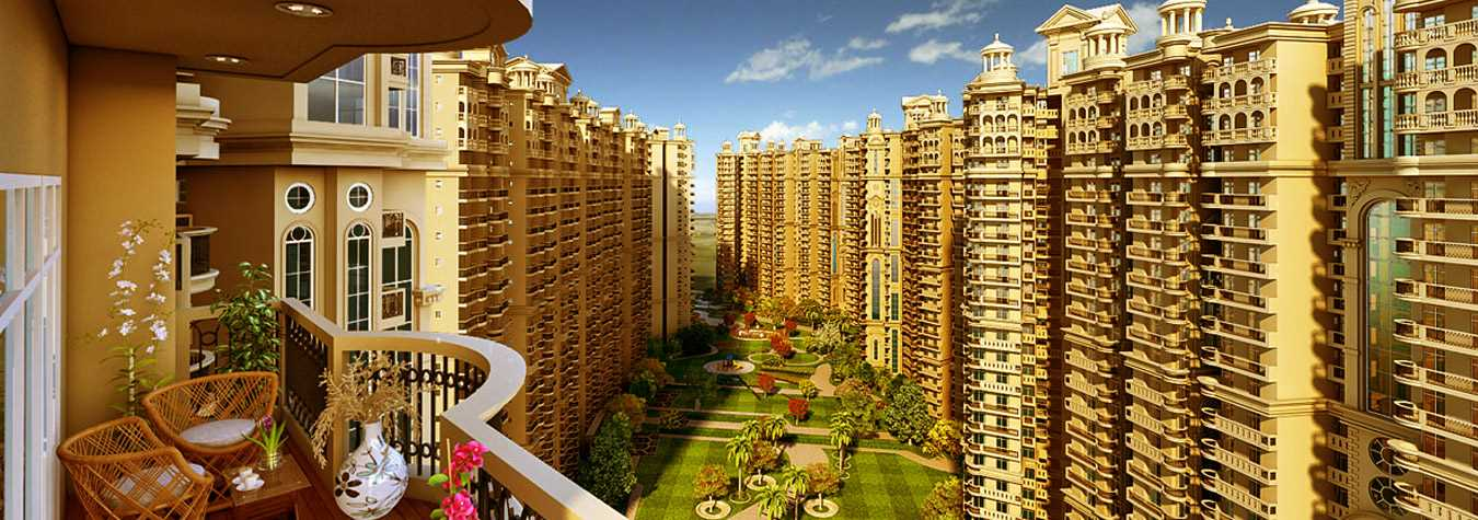 ajnara Le Garden in Delhi. New Residential Projects for Buy in Delhi hindustanproperty.com.